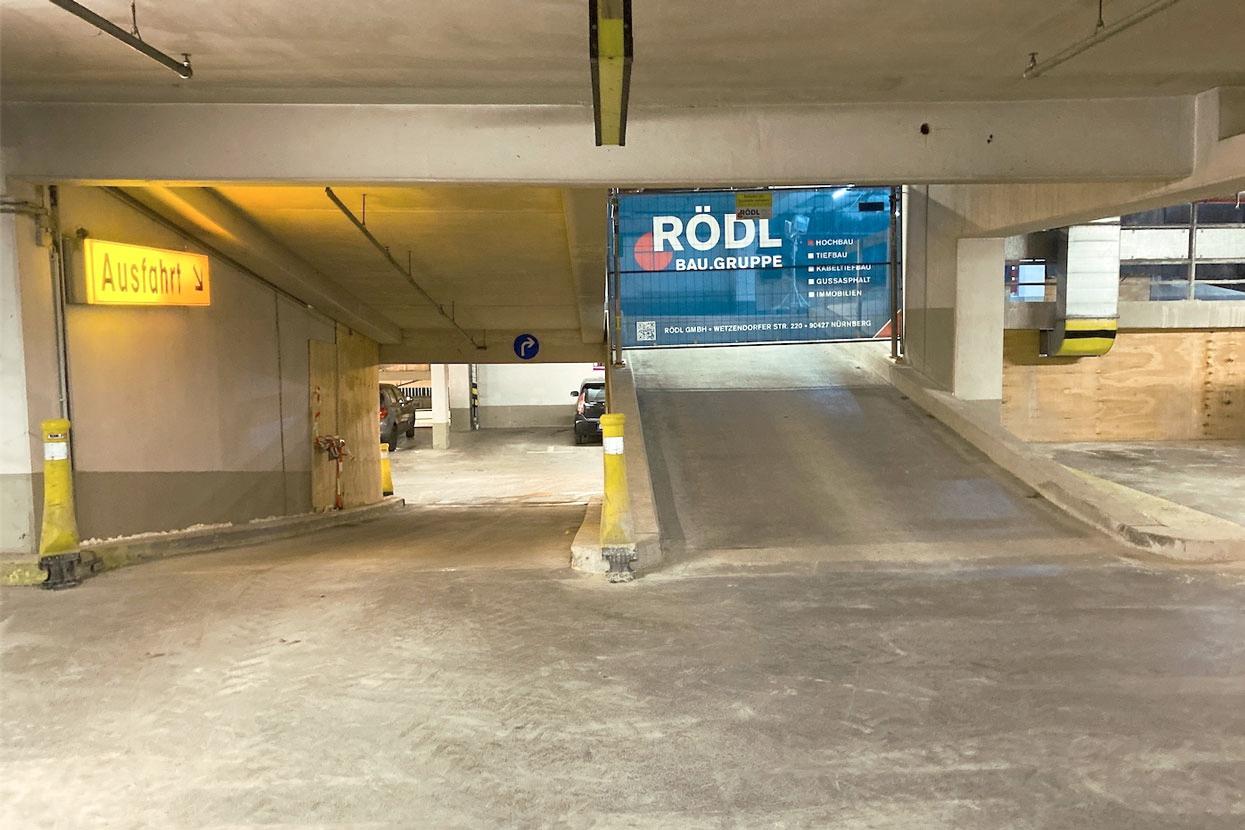 RÖDL Baugruppe saniert Tiefgarage in Plauen