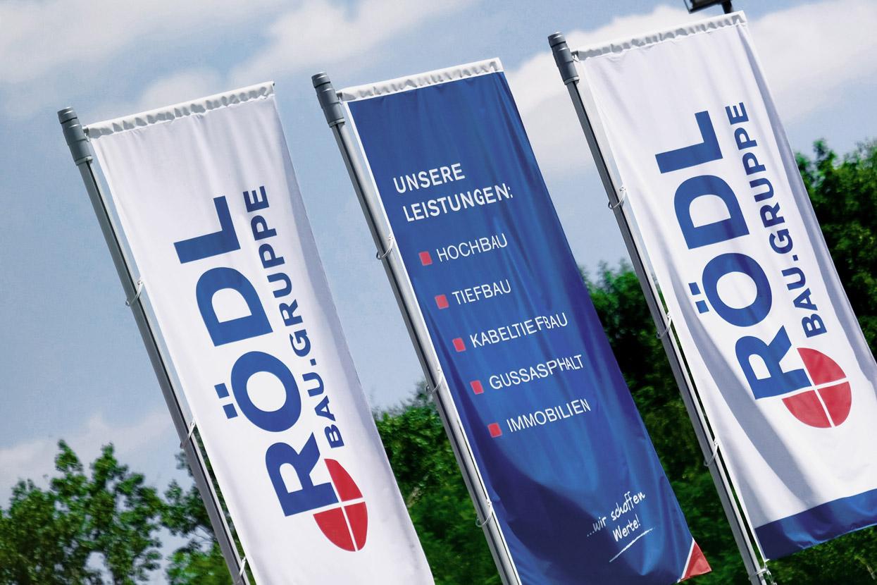 Rödl Geschichte: Spaltung der Rödl GmbH in die Hauptbereiche Hochbau und Tiefbau