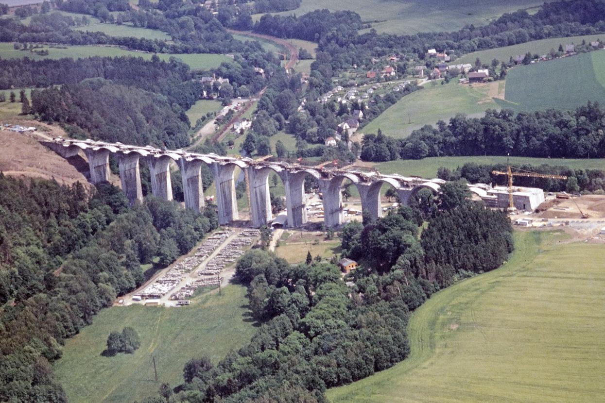 Rödl Geschichte: Sanierung der Elstertalbrücke