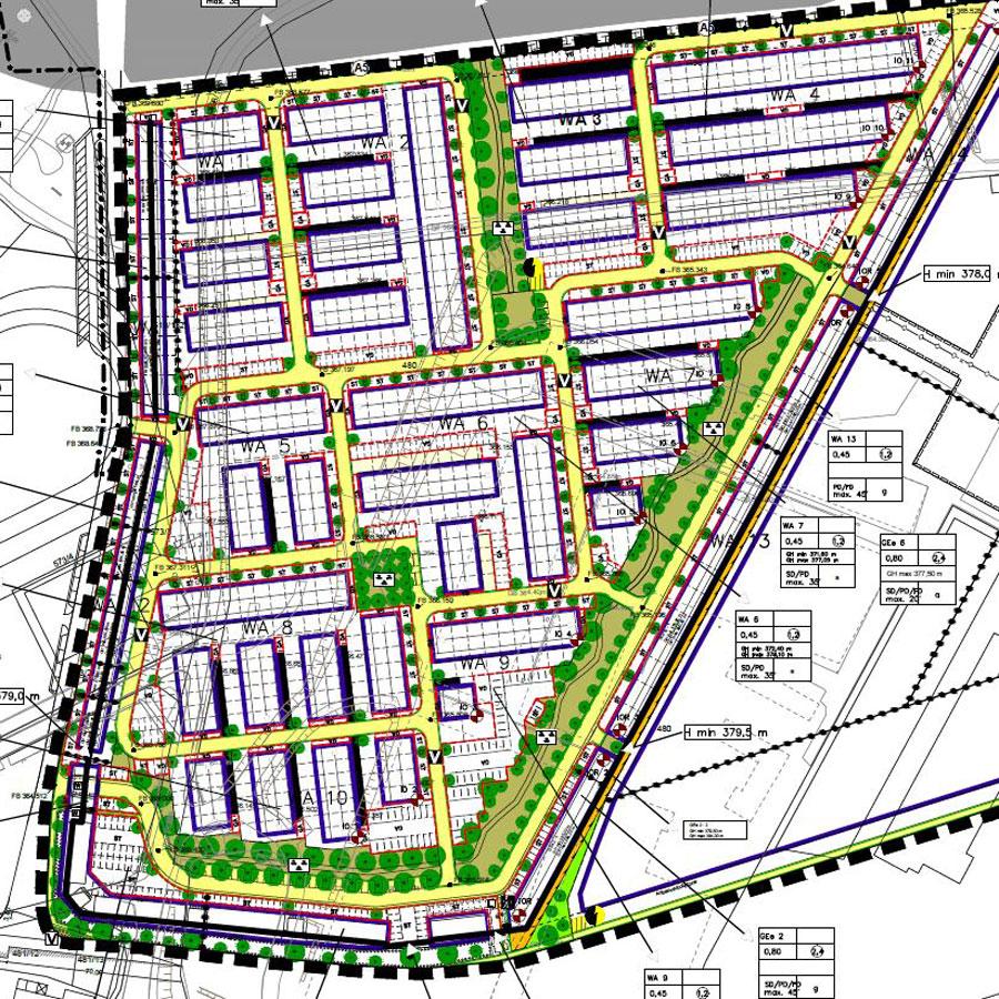 """Rödl Geschichte: Entwicklung des neues Wohnquartiers """"Parkside Feucht"""" mit ca. 300 Reihenhäusern"""
