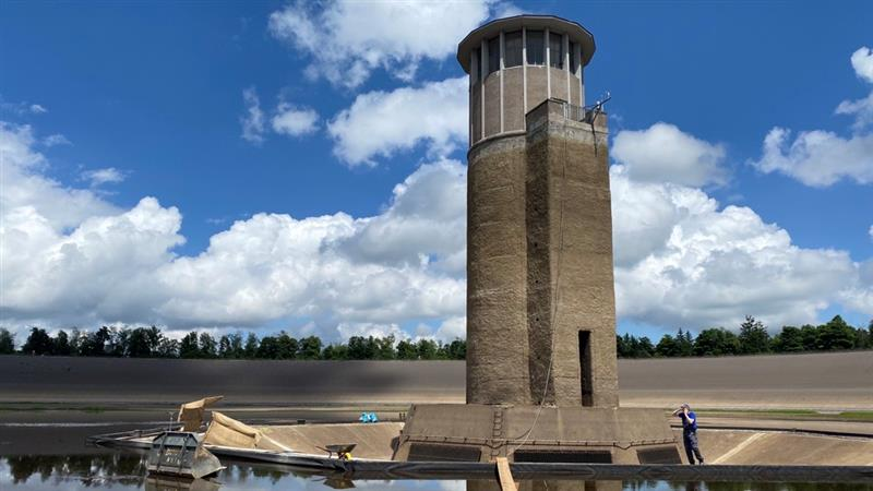 Sanierung im Pumpspeicherkraftwerk in Reisach