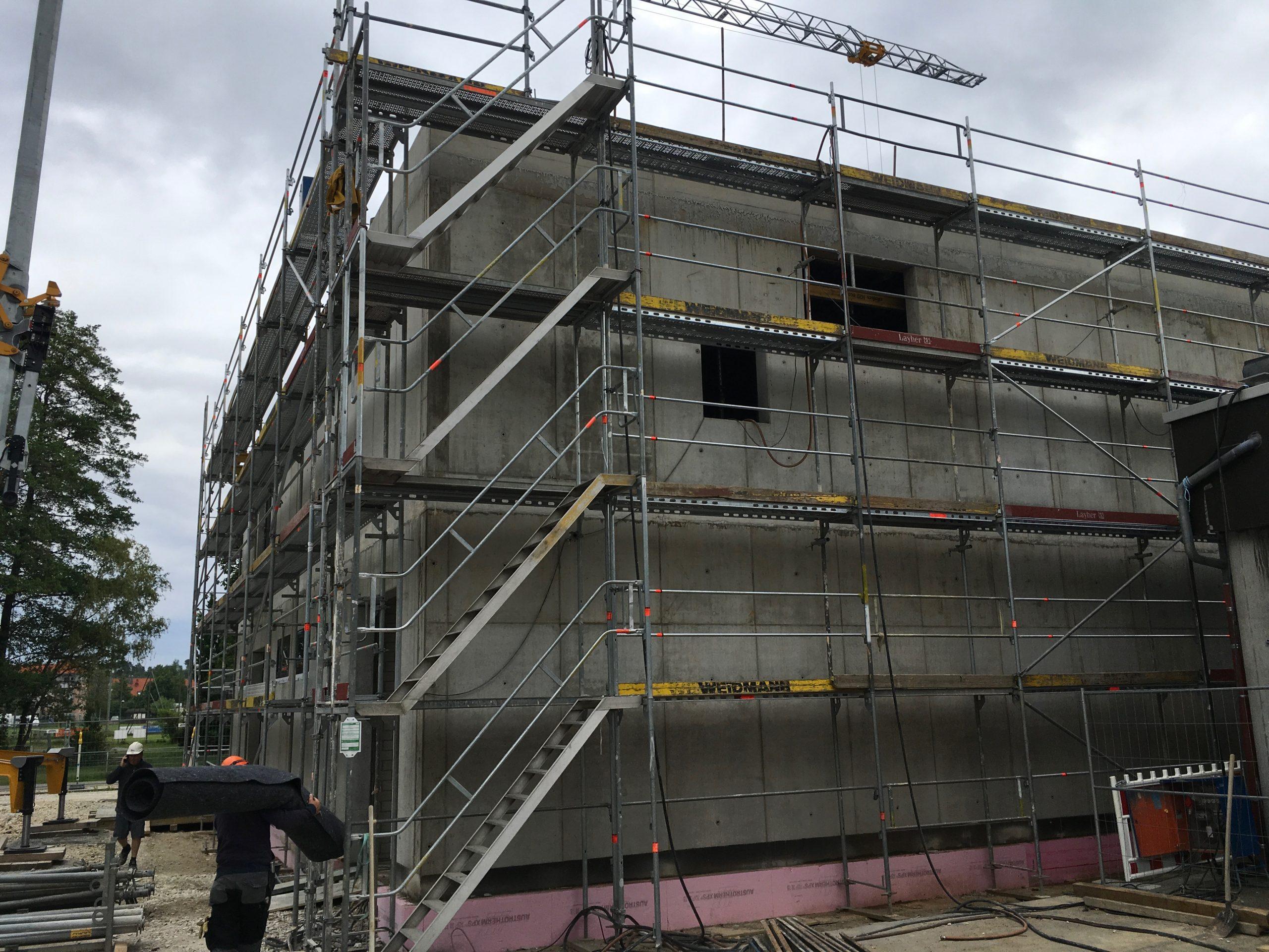 Neubau Schweißerei und Holzlager