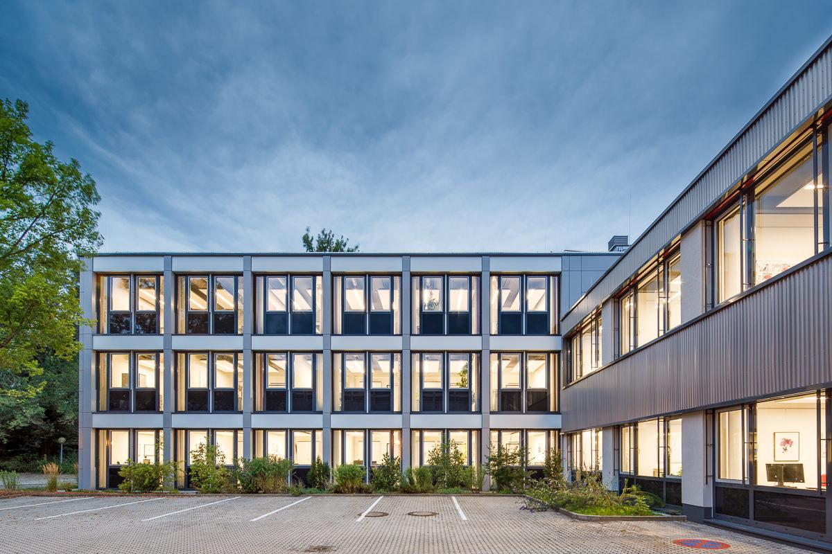 Berufsförderungswerk Nürnberg – Sanierung Verwaltungsgebäude